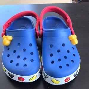 Light up Disney Crocs